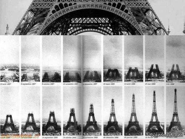 مراحل-ساخت-برج-ایفل