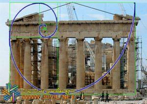 دانلود پاورپوینت تناسبات در معماری